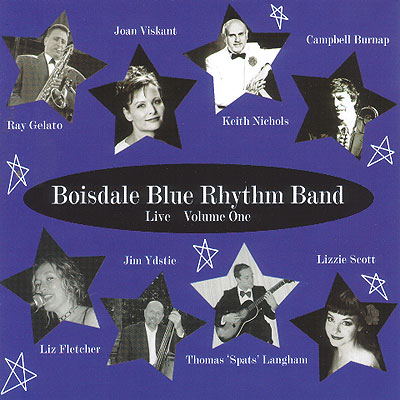 album cover for Boisdale Blue Rhythm Band Volume One and link to album page
